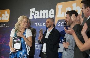Kis-Tóth Ágnes nyerte a FameLab magyarországi döntőjét