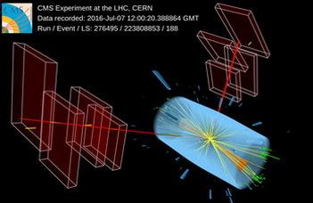 A Higgs-bozon ritka bomlásának jeleit mutatták ki magyar kutatók részvételével