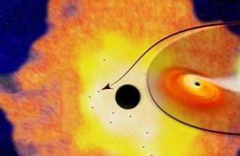 Újabb fekete lyukat fedeztek fel
