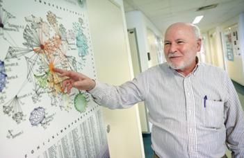 Tamás Vicsek professor emeritus