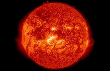 Magnetic plasma pulses excited by Hungary-size swirls in the solar atmosphere